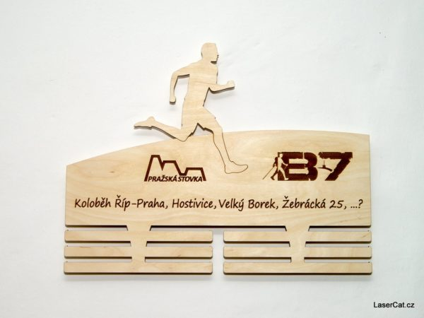 Závěs na medaile pro dálkového běžce