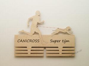 Canicross super tým s gravírovaným původním nápisem